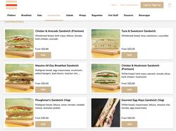 Islandwide Delivery - The Sandwich Shop