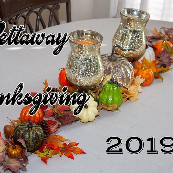 Pettaway Thanksgiving 2019