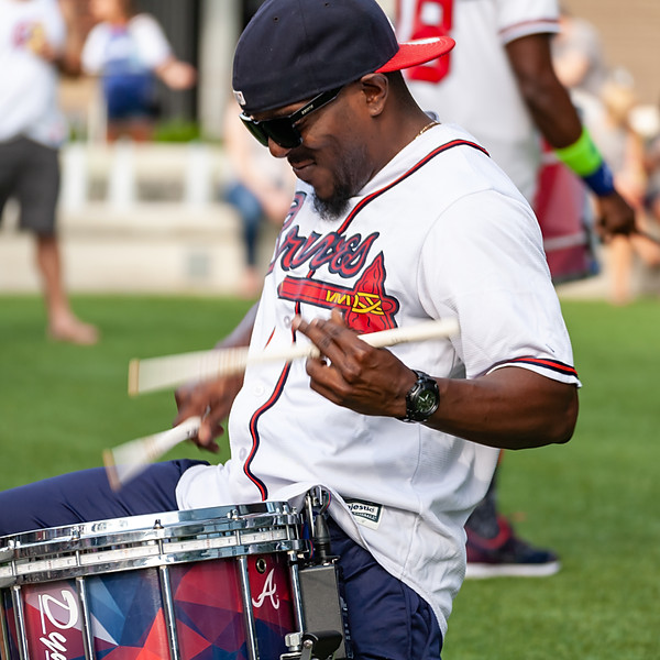 Atlanta Braves Heavy Hitters Drumline