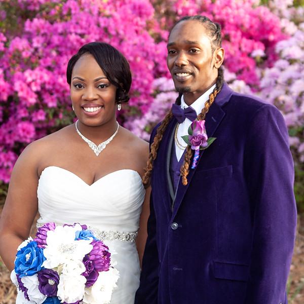 Javon & Raven Milner Wedding