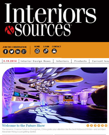 Interiors & Sources Website (USA)
