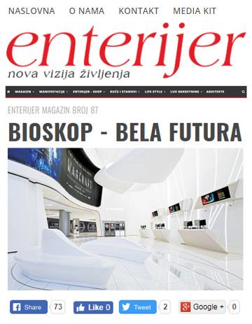 Enterijer Magazine (Belgrade Serbia)