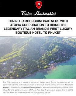 Tonino Lamborghini Hotel in Phuket