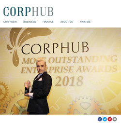 CORPHUB 最优秀企业大奖2018