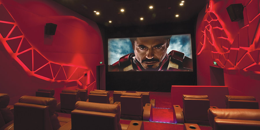 Cinema Design by Alexander Wong Architects Limited