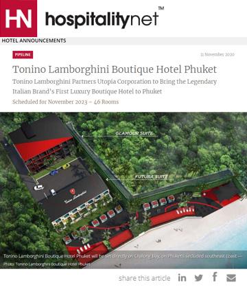 Tonino Lamborghini Boutique Hotel Phuket