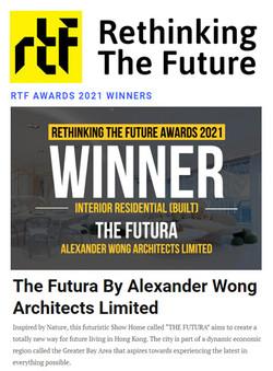 RTFA 2021, The Futura, India