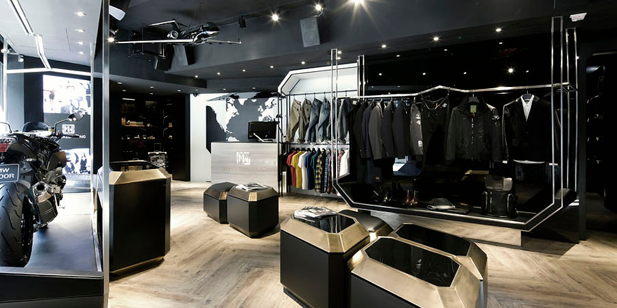 MW Michael Wong – Asia's First Celebrity Brand. Retail Design by Alexander Wong Architects