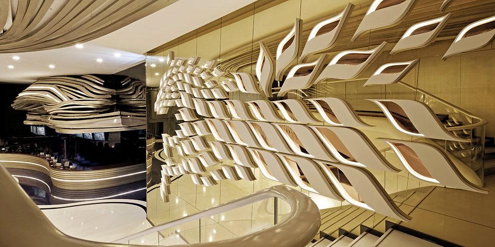 FUTURE WILD  URUMQI SUNWAY MOVIE PARK. Cinema Design by Alexander Wong Architects Limited.