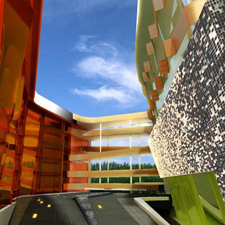 Architecture Design - Hotel Phuket