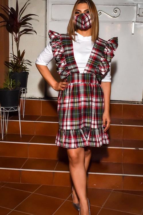 Conjunto Valentina para adulta con una camisa Manga larga y un Jumper
