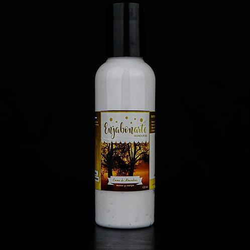 Crema de Manos y Cuerpo de Almendra