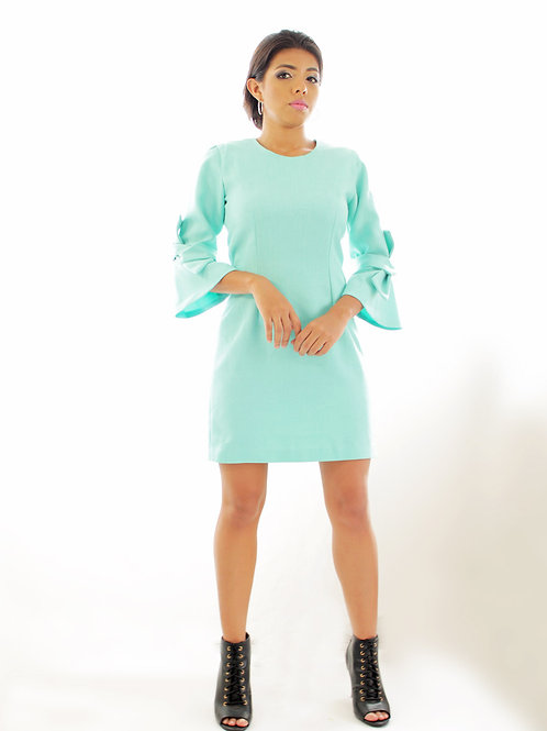 Vestido Menta entallado