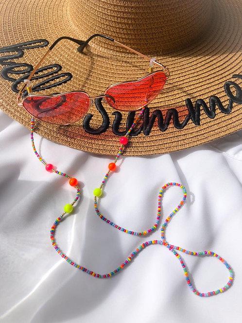 Mask holder / Sunglasses Chain Neon
