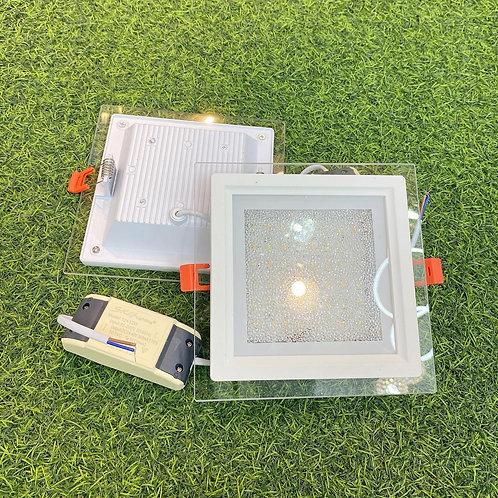 Downlight Crystal Glass S-series SQ160S 12Watt 3Tone