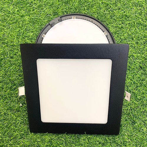 Downlight A-series Square 170mm 12Watt 3 Tone (Black)