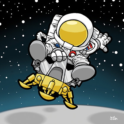 Astronaut - Lunar Module