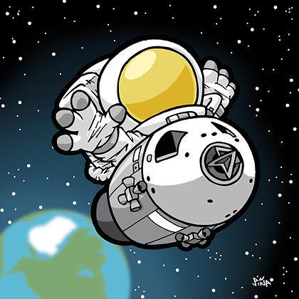 Astronaut - Lunar Command Module