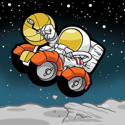 Astronaut - Lunar Rover