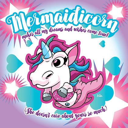 Mermaidicorn Dreams Print