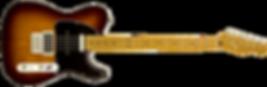guitare elec telecaster sunburst detoure