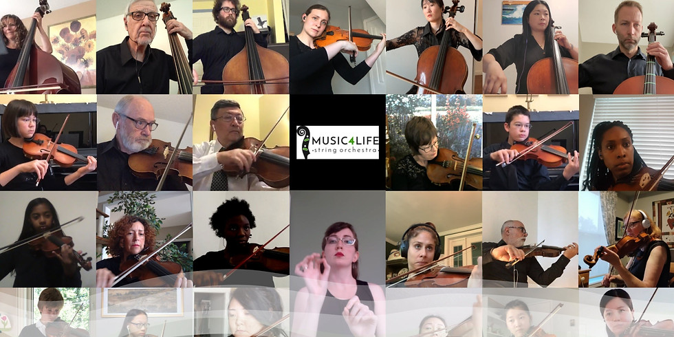 Music4Life String Orchestra 2020 Fall Season (Virtual)