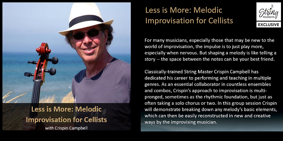Less is More: Melodic Improvisation for Cellists