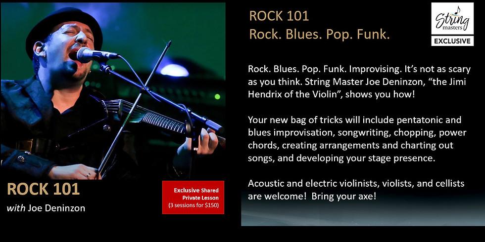 Rock 101 with Joe Deninzon