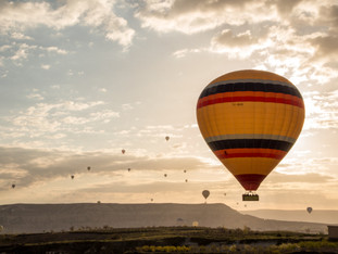Up in the Air: The Hot Air Balloon Journey Above Cappadocia