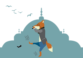 Urban Fox - Peculiar Scent of Turkish Customs found in Istanbul Streets - Travel Blog Button