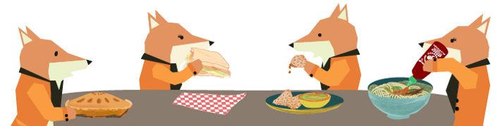 food, cultural diversity, illustration