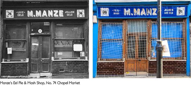 Manze's Eel Pie & Mash Shop, Chapel Market comparison