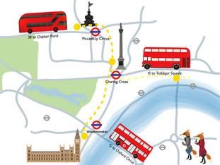 London Routemaster-Go-Around