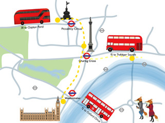 London Routemaster-Go-Around