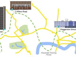 Let's Meet Goldfinger: A National Trust Routemaster Tour