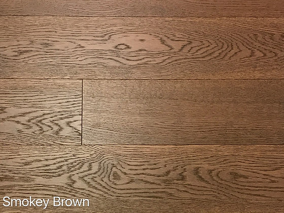 Oak Smokey Brown 6""