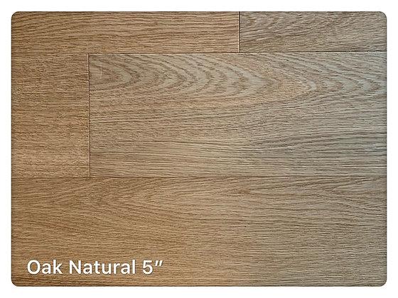 """Oak # Natural 5"""""""