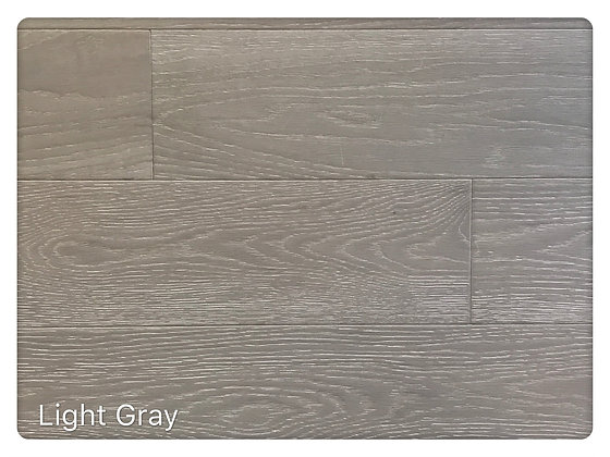 White Oak # Light  Gray 5""