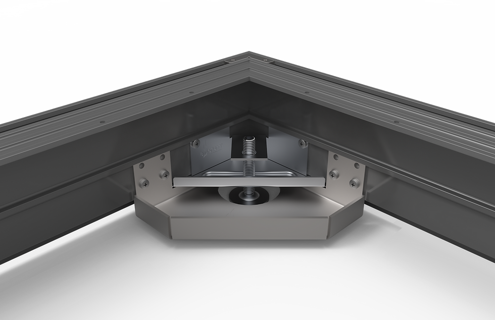 Cabinet leveling system