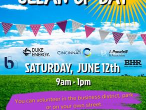 Community Wide Cleanup Day - Saturday June 12th
