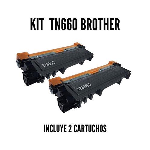 Kit Toner Brother TN660