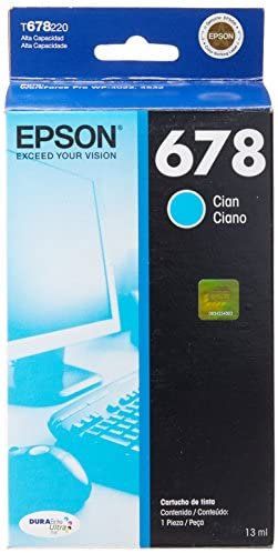 Cartucho Cian Epson 678
