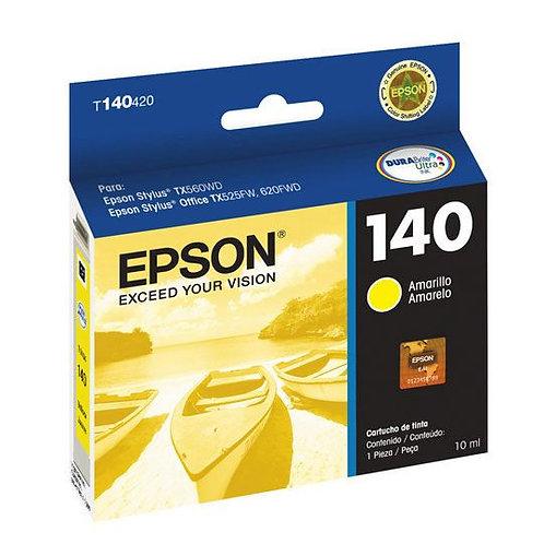 Cartucho de Tinta Epson 140 AMARILLO