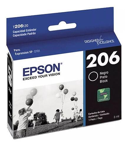 Cartucho de Tinta Epson 206 NEGRO