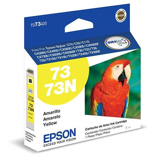 Cartucho de Tinta Epson 73 AMARILLO
