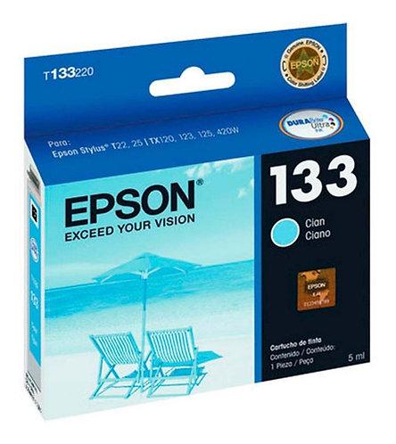 Cartucho de Tinta Epson 133 CYAN