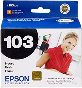 Cartucho de Tinta Epson 103 NEGRO