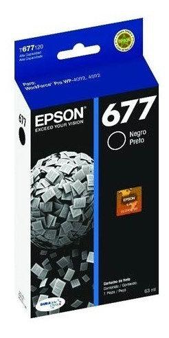 Cartucho de Tinta Negro (Alta Capacidad) Epson 677