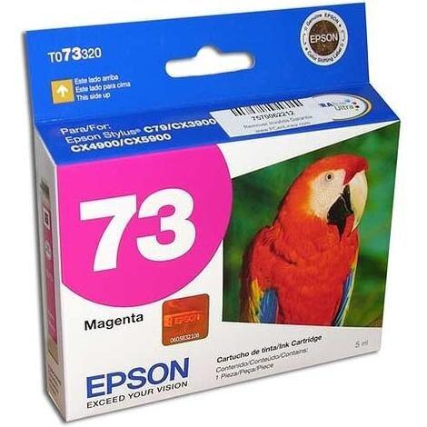 Cartucho de Tinta Epson 73 MAGENTA