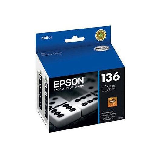 Cartucho de Tinta Epson 136 NEGRO